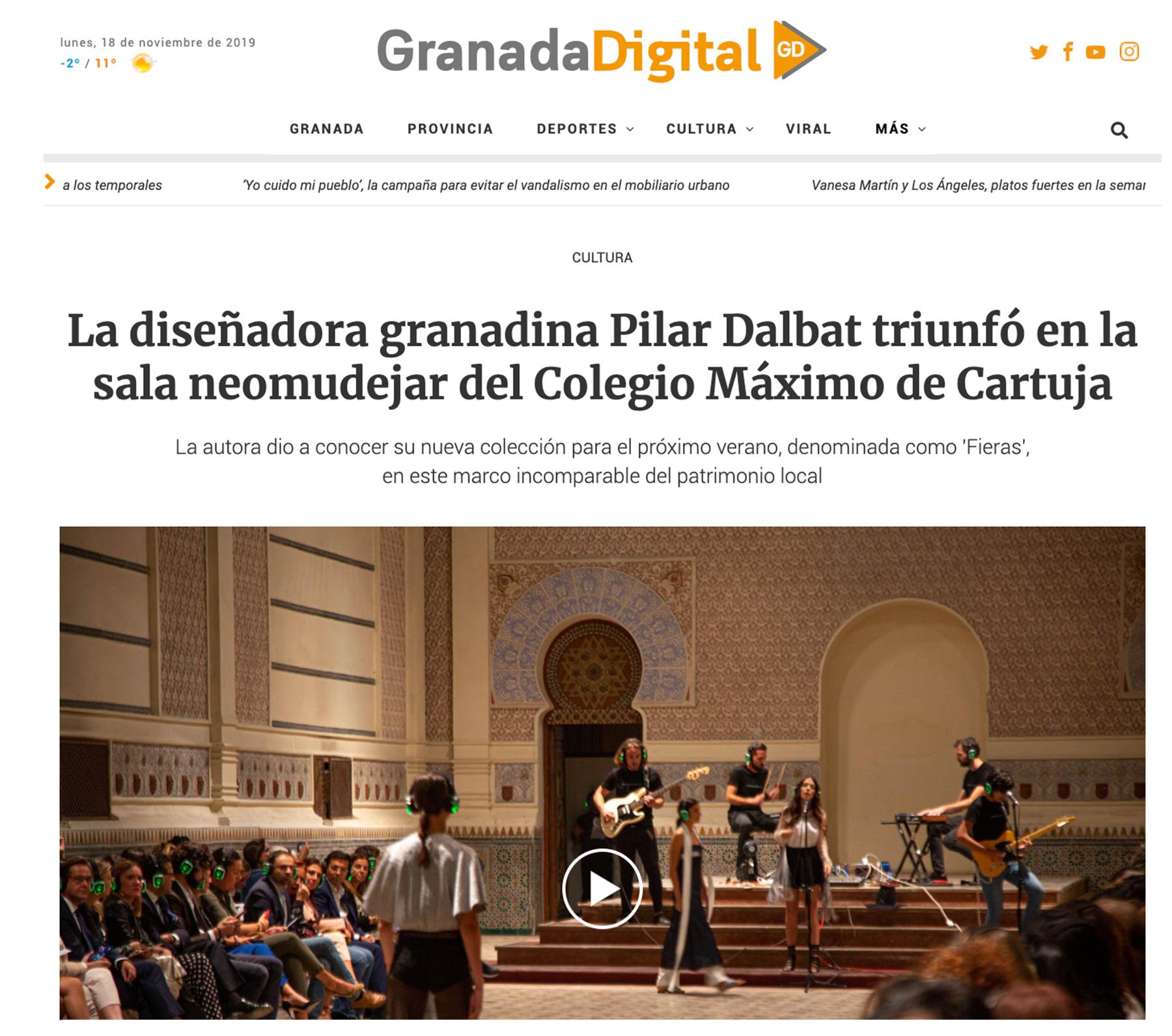Pilar Dalbat - Granada Digital
