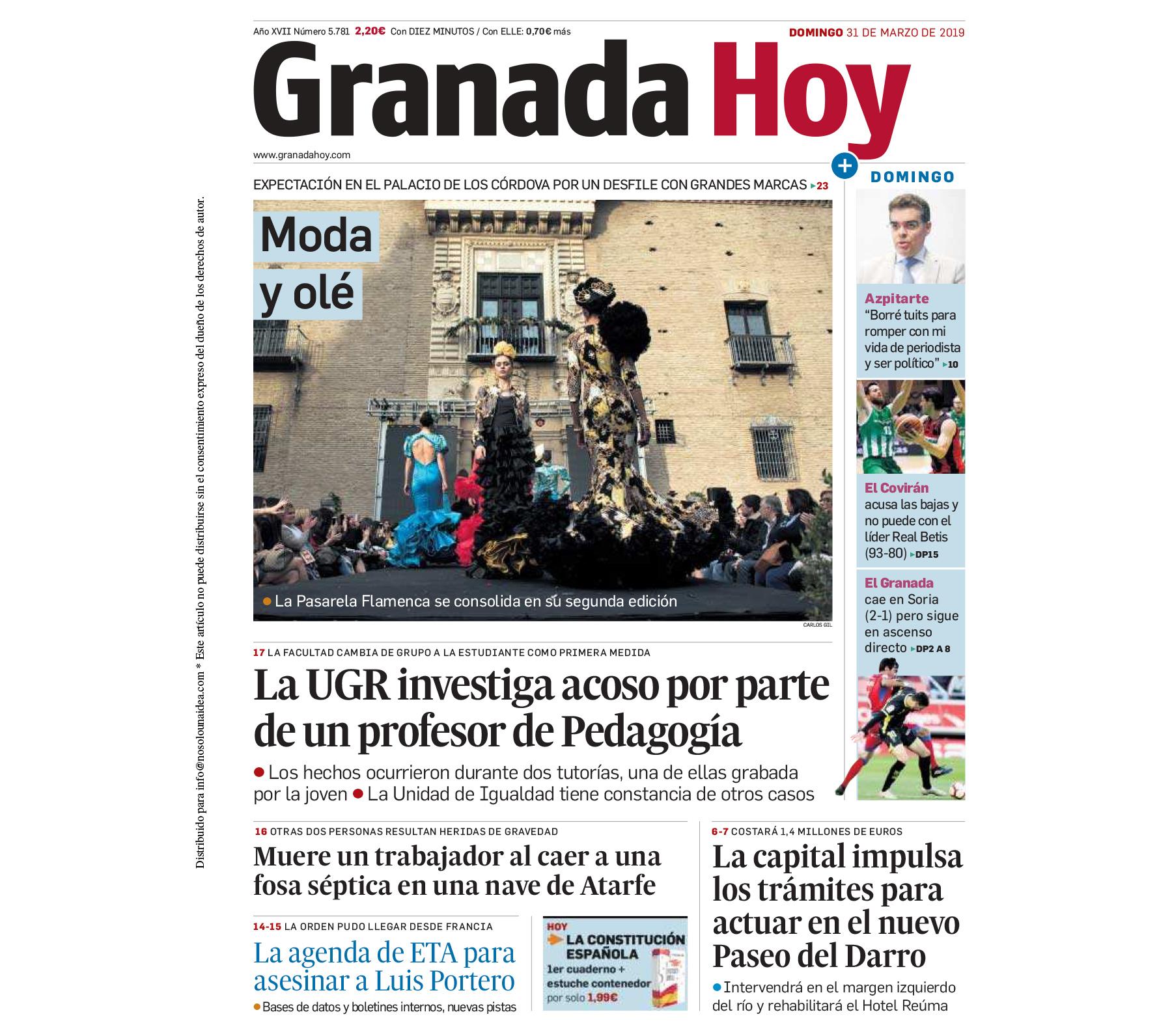 Pasarela Flamenca Granada - Granada Hoy