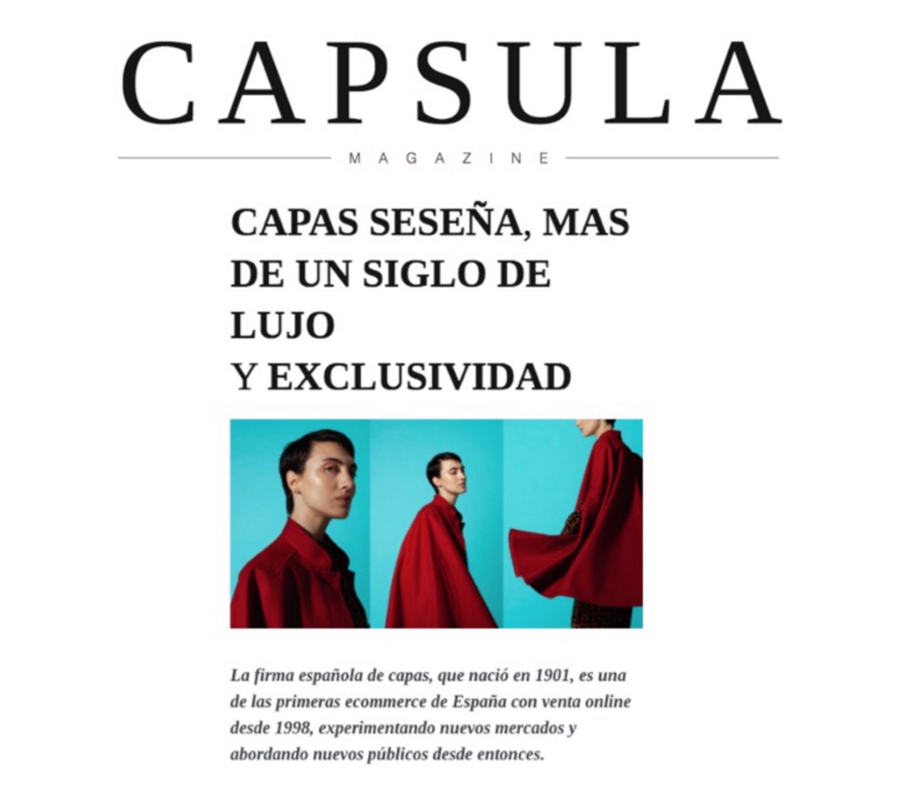 Seseña - Capsula Magazine
